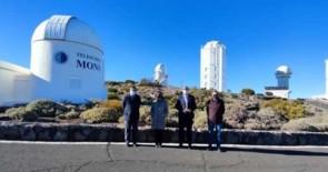 El secretario de Estado de la España Global visita el Observatorio del Teide