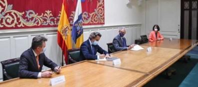 Gustavo Matos recibe al presidente del Consejo Consultivo