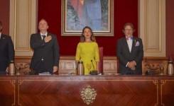 La alcaldesa de Santa Cruz de Tenerife preside la celebración solemne del Día de la Nación Francesa