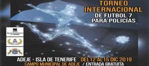Adeje acogerá el primer torneo internacional de fútbol siete para policías