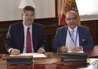 Catalá firma un convenio de colaboración para proyectos de transformación digital de la Justicia de Canarias
