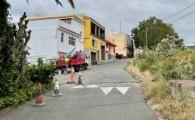 Guía inicia el Plan de Reasfaltados, dotado con cerca de 500.000 euros, en el tramo comprendido entre la Cuesta de Caraballo hasta Ingenio Blanco