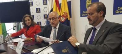 El Cabildo de Gran Canaria y la Universidad suscriben convenios con la Secretaría de Estado de Investigación por valor de 6 millones de euros