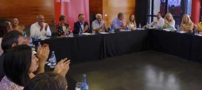 El PSOE retoma la negociación con Podemos, NC y ASG para conformar cuanto antes un Gobierno de progreso para Canarias