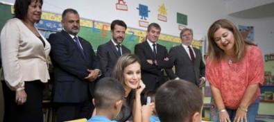 La reina inaugura en Canarias el curso escolar 2017-2018