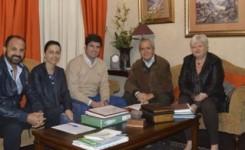 El alcalde de Santiago del Teide se reúne con miembros del CIT del Sur