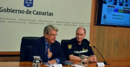 Canarias será el escenario de un simulacro de erupción volcánica y terremoto