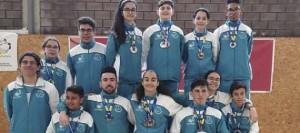 El Cabildo majorero anima a los participantes en el Campeonato de España de selecciones autonómicas en Edad Escolar de Badminton