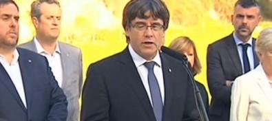 Puigdemont no aclara si proclamó o no la independencia
