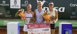 La española Marina Bassols y la china Shuo Feng triunfan en dobles del ITF Disa Las Palmas de Gran Canaria