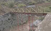 El Cabildo finaliza los trabajos de mejora en el camino El Draguillo a El Faro, en el Parque Rural de Anaga