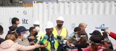 Transición Ecológica pone en marcha la segunda de las desaladoras portátiles de Puerto Naos