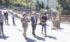 El casco de Tejeda ya luce renovado y gana espacio para los peatones y cien plazas de aparcamiento tras una inversión del Cabildo de 2,3 millones