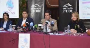 El Alcalde presentó la Campaña del Almendro en Flor Santiago del Teide 2020