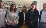 Nieves Lady Barreto y Rosario Marrero firman la renovación del convenio para la redacción del PGO supletorio de Firgas