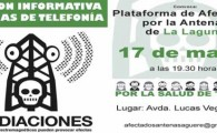 La Plataforma de Afectados por las Antenas de La Laguna convoca una nueva reunin