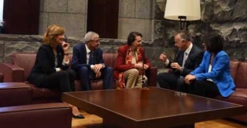 Magdalena Valerio presenta el Plan Integral de Empleo de Canarias para 2019
