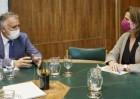 Torres y Ribera analizan los proyectos sostenibles para el Archipiélago a financiar con fondos europeos