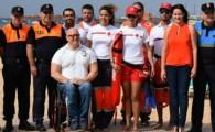 Santa Cruz refuerza durante el verano la seguridad en tierra y mar en Las Teresitas
