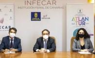 El Cabildo traslada por primera vez la Feria del Atlántico de Infecar al sur para contribuir a la reactivación turística de Gran Canaria