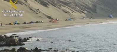 La Guardia Civil localiza 51 personas en acampadas ilegales incumpliendo la normativa sanitaria en Gran Canaria