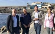 El Cabildo inicia el expediente para la licitación del proyecto de continuación del paseo marítimo de El Burrero