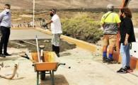 El Ayuntamiento de Antigua avanza en las obras de recuperación del Albergue de Pozo Negro