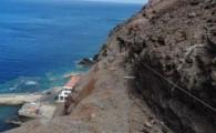 Arrancan los trabajos de estabilización de taludes en la Playa de Sardina
