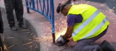 Los operarios de Vías y Obras y Servicios Municipales teldense realizan tareas de mejora en varias zonas de la ciudad