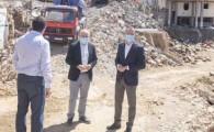 El derribo de dos edificaciones en Gáldar, último paso para que el casco cuente con casi 190 plazas de aparcamiento en dos años