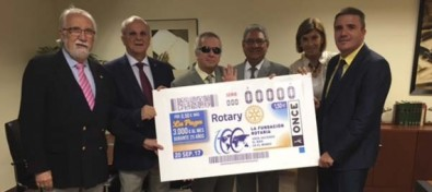 El cupón de la ONCE celebra el Centenario de la Fundación Rotaria