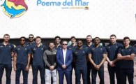 Poema del Mar recibe la visita del Herbalife Gran Canaria