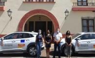 Puntagorda estrena vehículos eléctricos y tres puntos de recarga en su apuesta por la economía sostenible