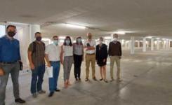 El Cabildo firma el acta de replanteo de las obras del sótano de Casa Palacio, último paso para iniciar el acondicionamiento del aparcamiento