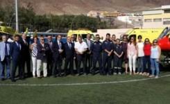 La Consejería de Sanidad renueva los dos helicópteros medicalizados del Servicio de Urgencias Canario
