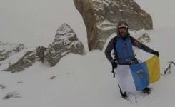 El canario Juan Diego Amador hace cumbre en una de las montañas vírgenes del Himalaya