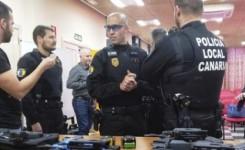 La Policía Local de Arona adquiere 5 inmovilizadores eléctricos TASER y forma a 50 agentes en su utilización