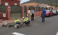 El Ayuntamiento de Tegueste inicia varias obras de saneamiento en las carreteras TF-13 y TF-154 con una inversión de 89.000 euros