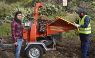 La concejalía de Medio Ambiente de Santiago del Teide adquiere una astilladora para gestionar los restos de poda