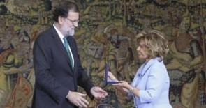 María Teresa Campos recibe la Medalla al Mérito en el Trabajo
