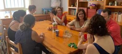 Atención Social celebra un encuentro con las familias monoparentales alojadas en el piso de emergencia social