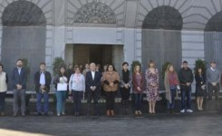 El Cabildo guarda un minuto de silencio en señal de luto por la víctima de la violencia de género en Los Realejos
