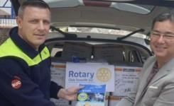 Los Rotarios del Sur de Tenerife aportan material de protección personal para las ambulancias de urgencias