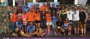 El Club Tenerife Master, Campeones de Canarias de Aguas Abiertas 2018