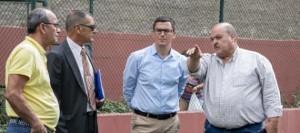 Pablo Rodríguez muestra su apoyo a la labor deportiva y social que desarrolla el Club de Fútbol Unión Pedro Hidalgo