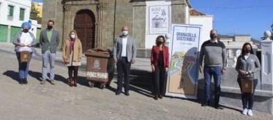 Granadilla de Abona inicia la colocación del quinto contenedor para la recogida orgánica municipal