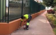 El Ayuntamiento teldense realiza trabajos de mejora en Valle de los Nueve Alto