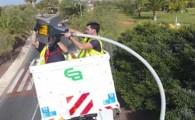 Adeje inicia la sustitución del alumbrado público por luminaria LED