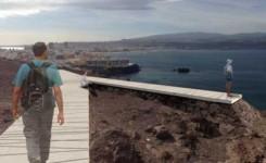 El Cabildo adjudica por 115.000 euros la instalación de dos miradores en el litoral de la capital para admirar el norte de Gran Canaria