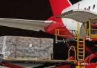 El segundo avión del Corredor Aéreo Sanitario trae otros 30 toneladas de material para hospitales